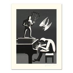"Mark Kostabi ""Cyclone Variations"" Limited Edition Serigraph"