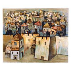 "Gregory Kohelet ""Jerusalem"" Limited Edition Serigraph"