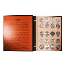 Lot of 1948-1963 Franklin Half Dollar Coins in Dansco Book