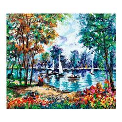 "Polak (1922-2008) ""Polak Limited Edition"" Limited Edition Serigraph on Canvas"