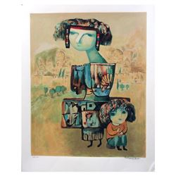 "Gregory Kohelet ""Motherhood"" Limited Edition Serigraph"