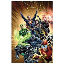 "DC Comics ""Justice League #24"" Limited Edition Giclee on Canvas"