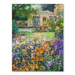 "Henri Plisson ""Parisian Courtyard"" Limited Edition Giclee On Canvas"