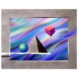 "Ken Shotwell ""Anty-Gravity Ii"" Original Acrylic on Paper"