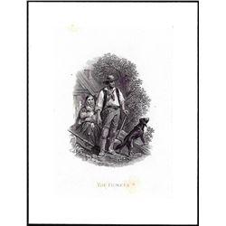 Henry Gugler 'The Pioneer' Woodchopper Vignette