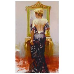 """Pino (1939-2010) """"Evening Elegance"""" Limited Edition Giclee on Canvas"""
