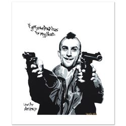 """Padhia Avocado """"Got Some Bad Ideas in My Head (Taxi Driver)"""" Limited Edition Serigraph"""