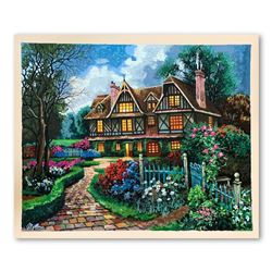 "Anatoly Metlan ""Country Cottage"" Limited Edition Serigraph"