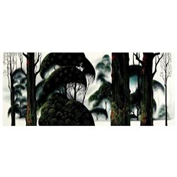"Eyvind Earle (1916-2000) ""Forest Magic"" Limited Edition Serigraph"