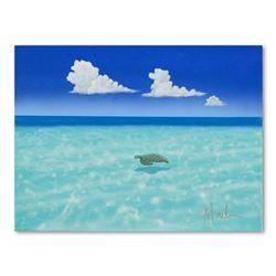 """Dan Mackin """"Passing Lane"""" Original Oil On Canvas"""
