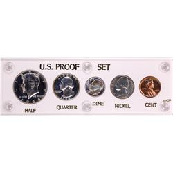 1964 (5) Coin Proof Set Nice Toning