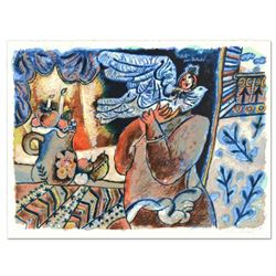"""Theo Tobiasse (1927-2012) """"Des Fruits Por Bathsabee"""" Limited Edition Lithograph"""