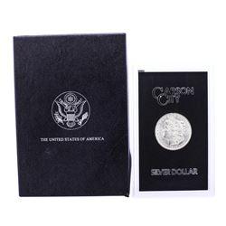 1882-CC $1 Morgan Silver Dollar Coin GSA Hoard with Box