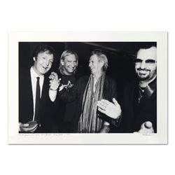 "Rob Shanahan ""Paul McCartney, Joe Walsh, Keith Richards & Ringo Starr"" Limited Edition Giclee"