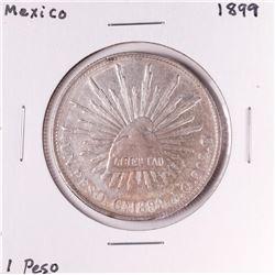 1899 Mexico Un Peso Silver Coin