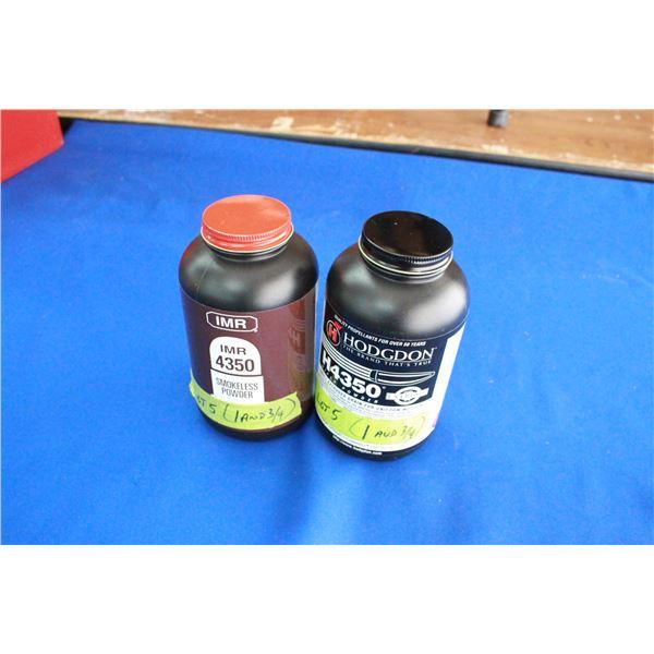 Smokeless Powder - 2 Containers