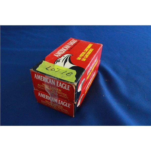 Live Ammunition - 2 Boxes