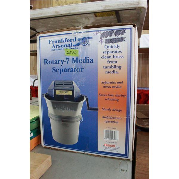 Rotary - 7 Media Separator