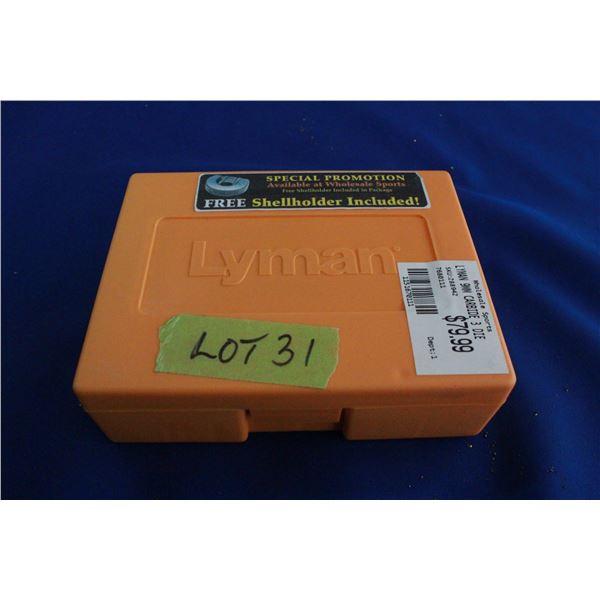 Lyman 9mm Carbide 3 Die Set (not used)