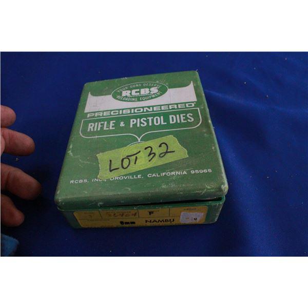 RCBS 8mm Die Set