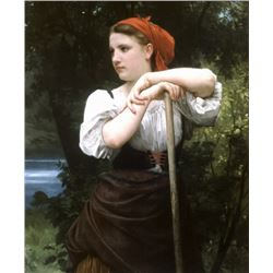 William Bouguereau - The Haymaker