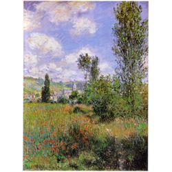Claude Monet - Sentier Ile Saint-Martin 1880