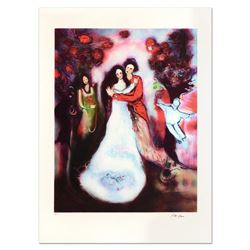 "Raya Sorkine, ""Le Mariage"" Limited Edition Lithograph, Numbered and Hand Signed."