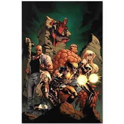 """Marvel Comics """"New Avengers #7"""" Numbered Limited Edition Giclee on Canvas by Tim"""
