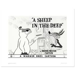 """""""A Sheep In the Deep"""" Limited Edition Giclee from Warner Bros., Numbered with Ho"""