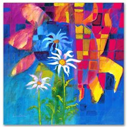 """""""Together We Chase The Sun"""" Limited Edition Giclee on Canvas by Simon Bull, Numb"""