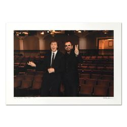 "Rob Shanahan, ""Paul McCartney & Ringo Starr"" Hand Signed Limited Edition Giclee"