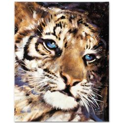 """""""Cub"""" Limited Edition Giclee on Canvas by Stephen Fishwick, Numbered and Signed."""