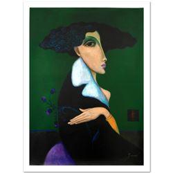 "Sergey Smirnov (1953-2006), ""Anna Pavlova"" Limited Edition Mixed Media on Canvas"