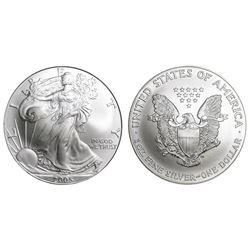 2005 American Silver Eagle .999 Fine Silver Dollar Coin