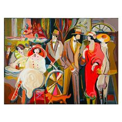 "Isaac Maimon, ""Charming Encounters"" Limited Edition Serigraph, Numbered and Hand"