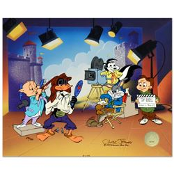"Chuck Jones (1912-2002), ""Mark of Zero"" Limited Edition Animation Cel with Hand"