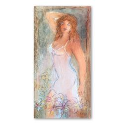 """Batia Magal, """"Heavenly Morning"""" Hand Signed Limited Edition Serigraph on Paper w"""