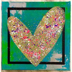 "Paulina Del Mar ""Double Green Heart"""