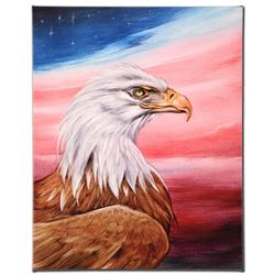 """The Eagle"" Limited Edition Giclee on Canvas by Martin Katon, Numbered and Hand"
