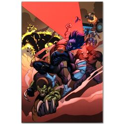 """Marvel Comics """"Secret Invasion: X-Men #1"""" Numbered Limited Edition Giclee on Can"""