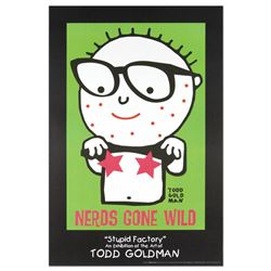 """""""Nerds Gone Wild"""" Collectible Lithograph (24"""" x 36"""") by Renowned Pop Artist Todd"""
