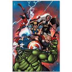 """Marvel Comics """"Marvel Adventures: The Avengers #36"""" Numbered Limited Edition Gic"""