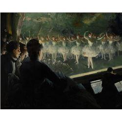 Everett Shinn - The White Ballet