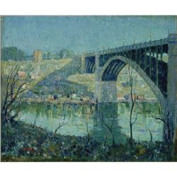 Ernest Lawson - Spring Night, Harlem River