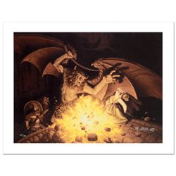 """Balrog"" Limited Edition Giclee on Canvas by The Brothers Hildebrandt. Numbered"