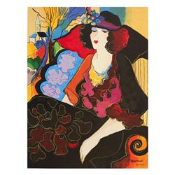 "Patricia Govezensky, ""Elizabeth"" Hand Signed Limited Edition Serigraph with Lett"