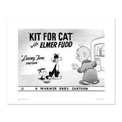 """""""Kit for Cat"""" Numbered Limited Edition Giclee from Warner Bros. with Certificate"""