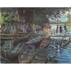 Claude Monet - Bathers at La Grenoulliere