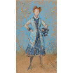 Whistler - The Blue Girl