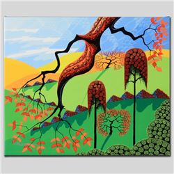 """""""Fall"""" Limited Edition Giclee on Canvas by Larissa Holt, Numbered and Signed. Th"""
